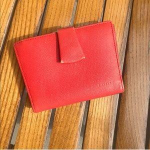 LODIS vintage red wallet